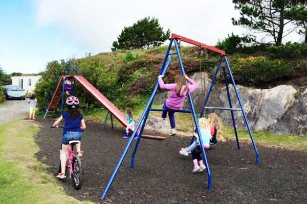 Wave-Crest-Caravan-Park-childrens-play-area